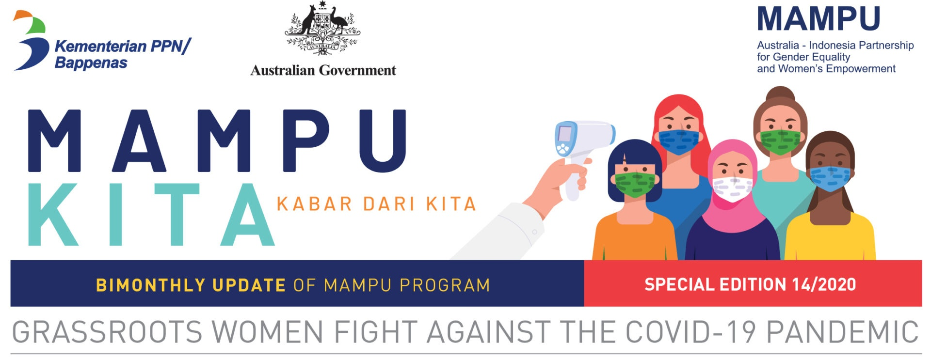 Projects in Action – Bimonthly Newsletter: Australia-Indonesia Partnership for Gender Equality and Women's Empowerment (MAMPU)