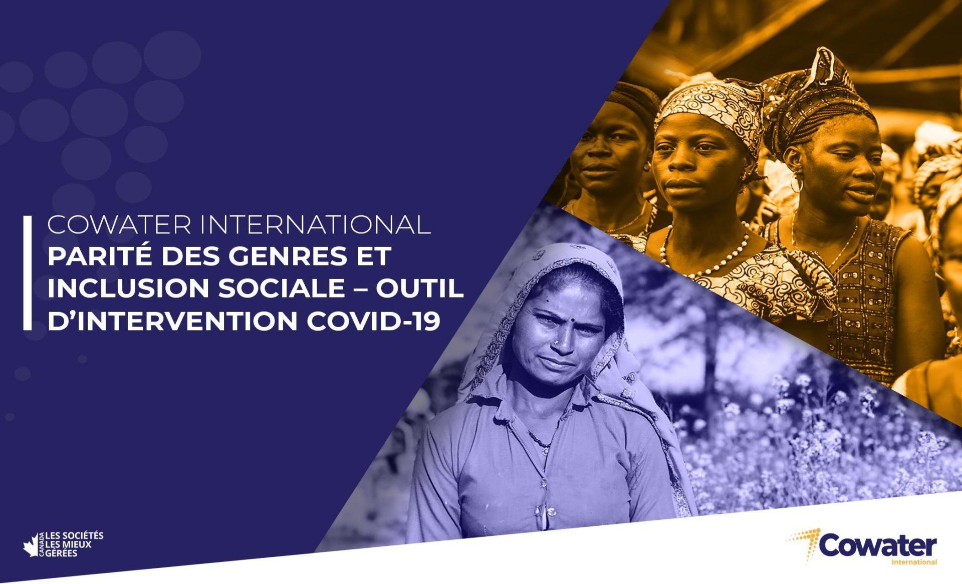 Parité des genres et inclusion social-outil d'intervention Covid-19