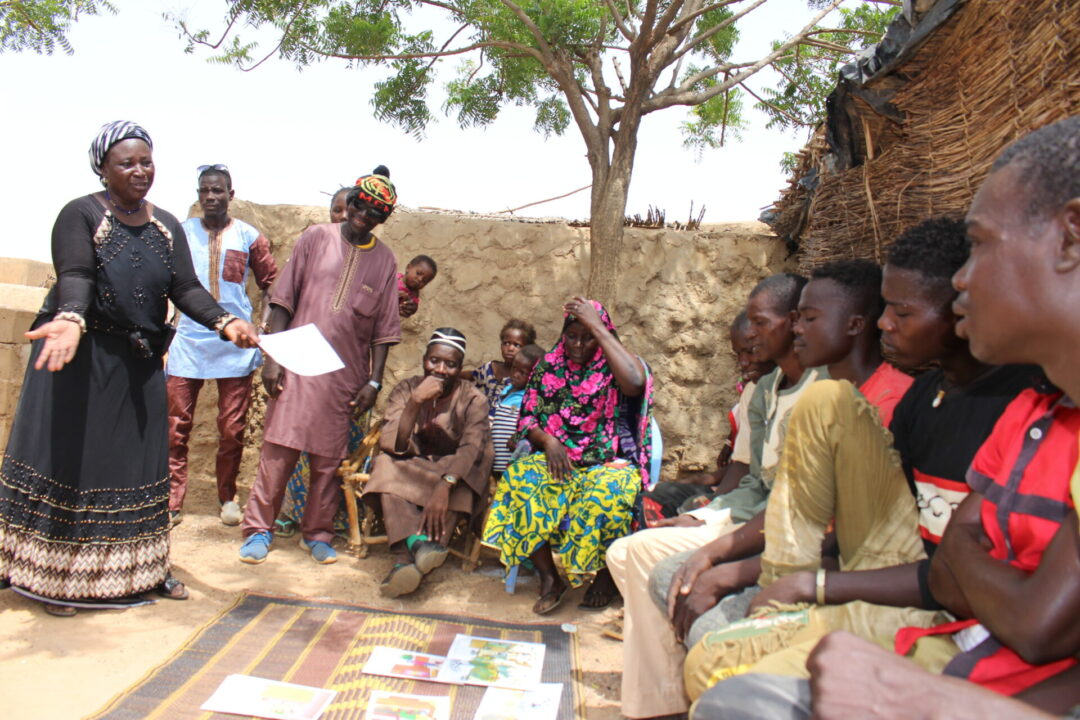 Ending Open Defecation in Sahel : Successful outcomes of a Pilot Project combining CLTS with Social art