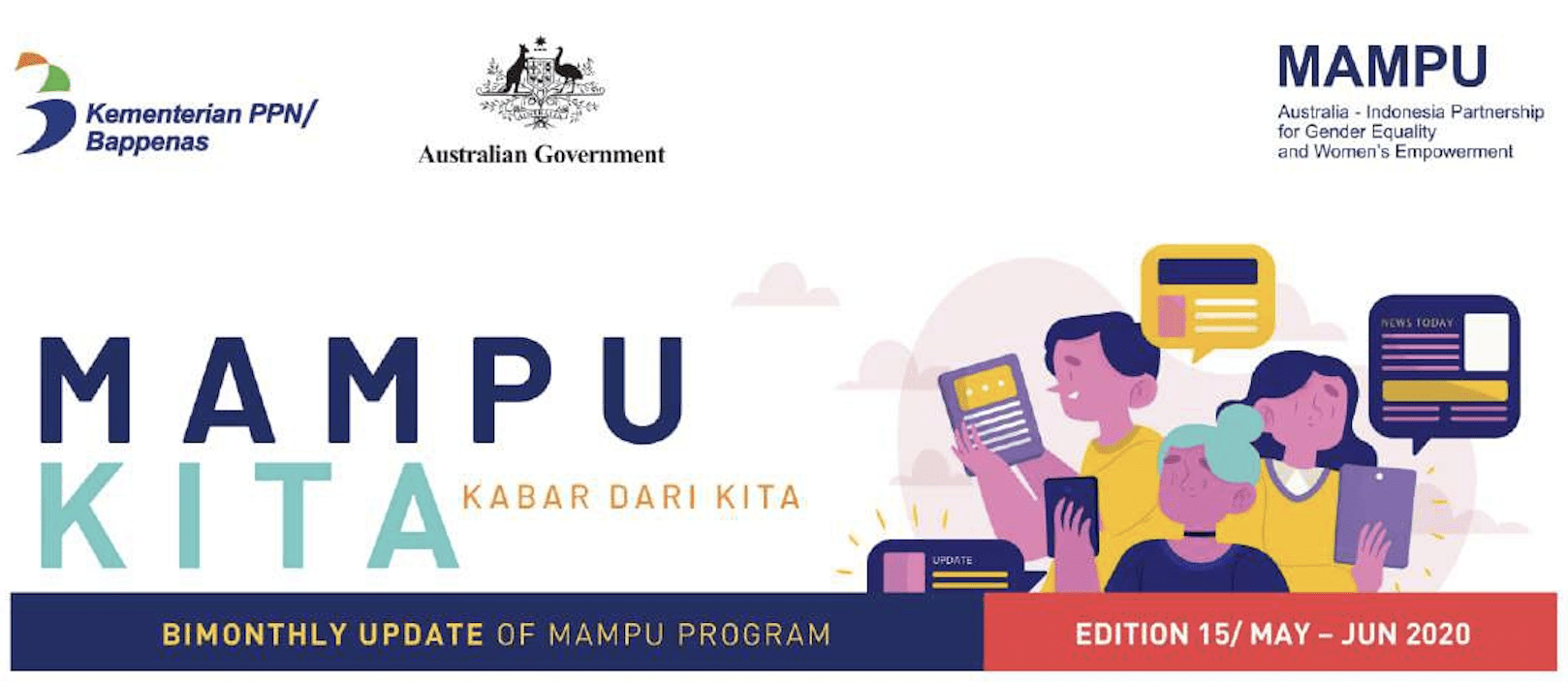 Projects in Action – Bimonthly Update (Edition 15): Australia-Indonesia Partnership for Gender Equality and Women's Empowerment (MAMPU)