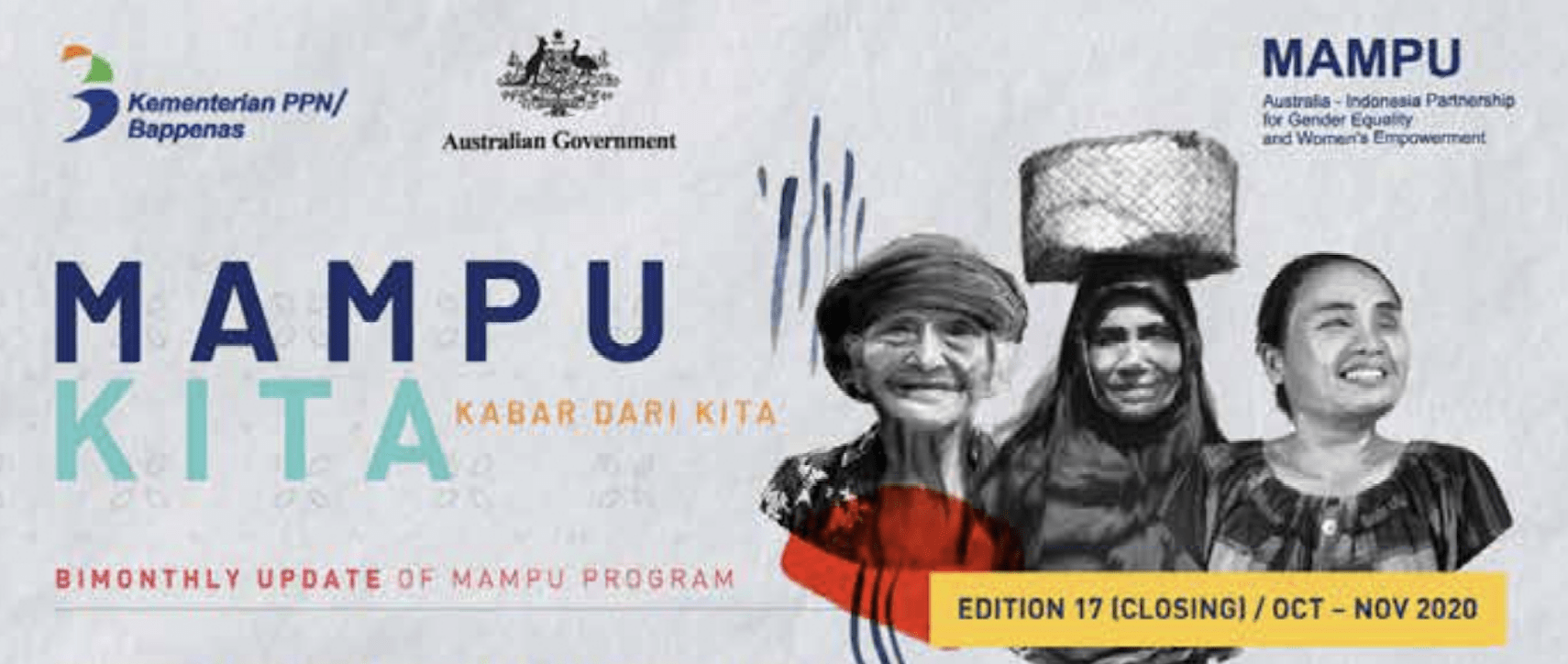 Projects in Action – Bimonthly Update (Edition 17): Australia-Indonesia Partnership for Gender Equality and Women's Empowerment (MAMPU)