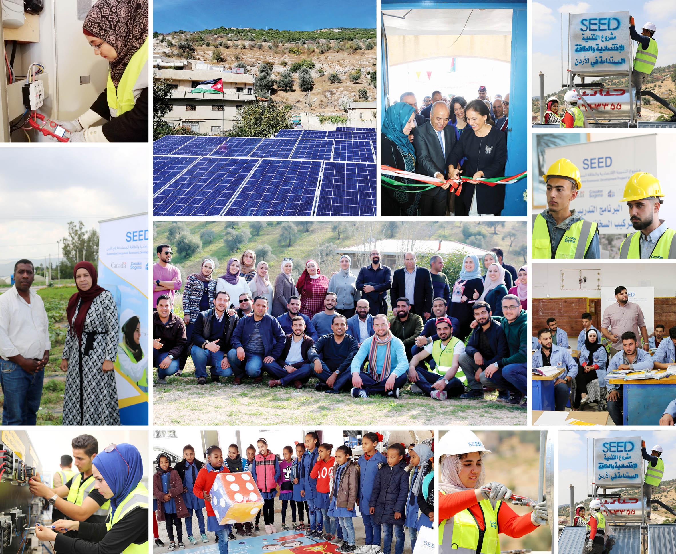 Cowater International's SEED project in Jordan awarded for advancing innovative solutions in the field of energy